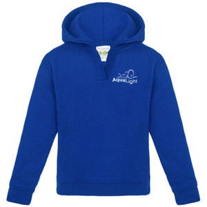 JH02B Aqualight Baby SupaSoft hoodie - Royal Blue